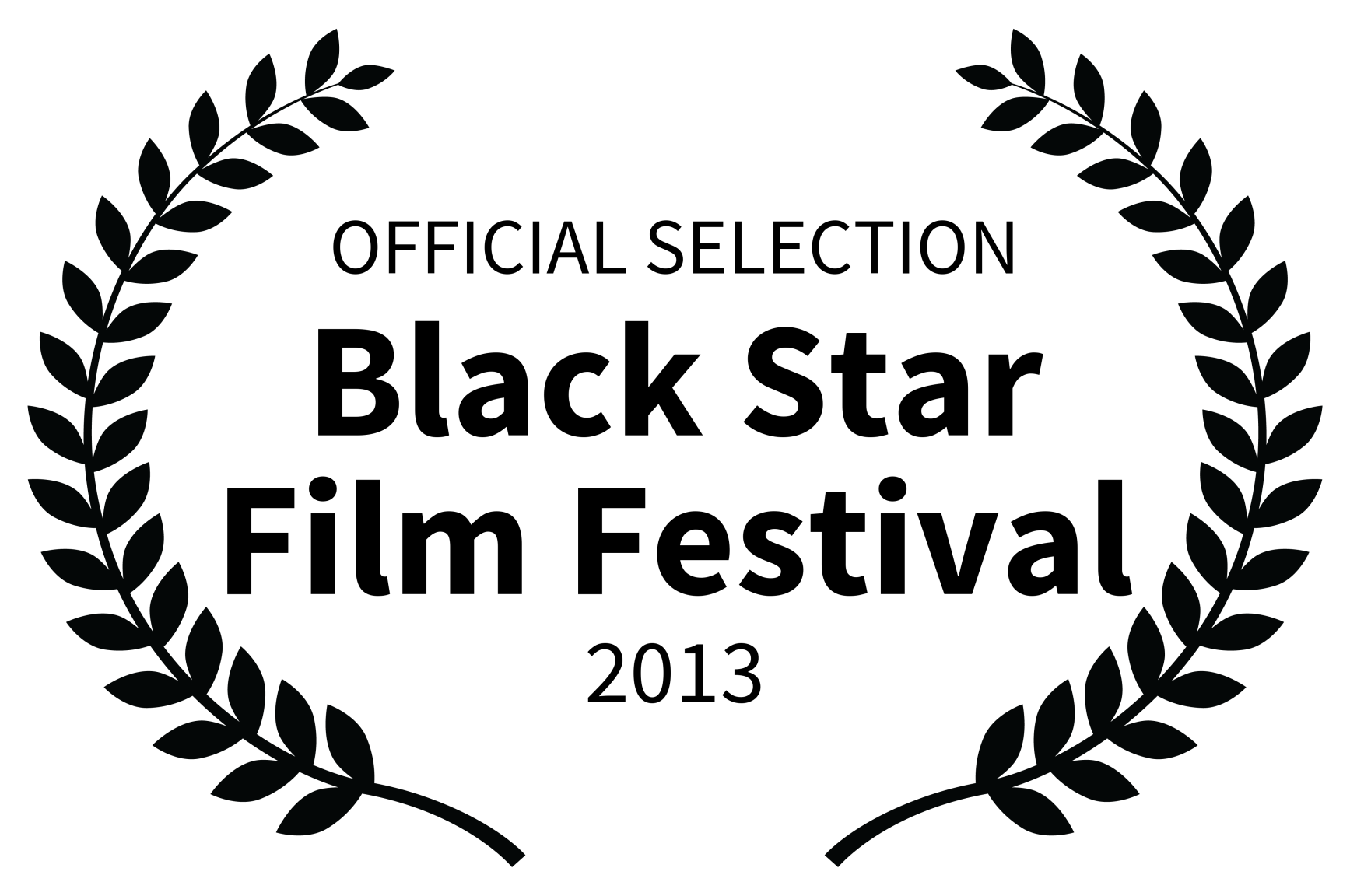 OFFICIAL SELECTION - Black Star Film Festival - 2013
